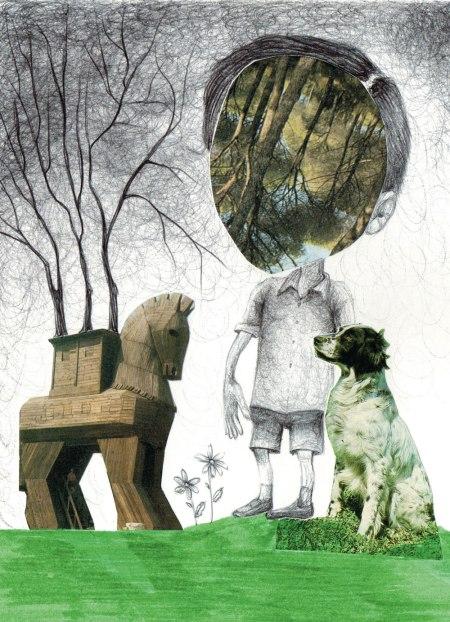 38- I giochi di un bimbo solo- Laura Saddi, Disegna per un disegno, Sant'Arte 2018