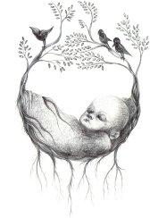 6- Nascita- Laura Saddi, Disegna per un disegno, Sant'Arte 2018