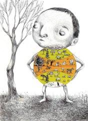 79- Difendere il pianeta. la battaglia della terra.- Laura Saddi, Disegna per un disegno, Sant'Arte 2018