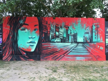 Alice Pasquini @Roskilde, Denmark