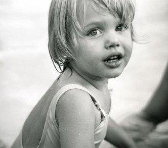 Angelina Jolie da bambina