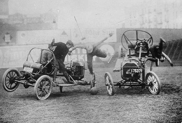 Auto Polo, Circa 1910