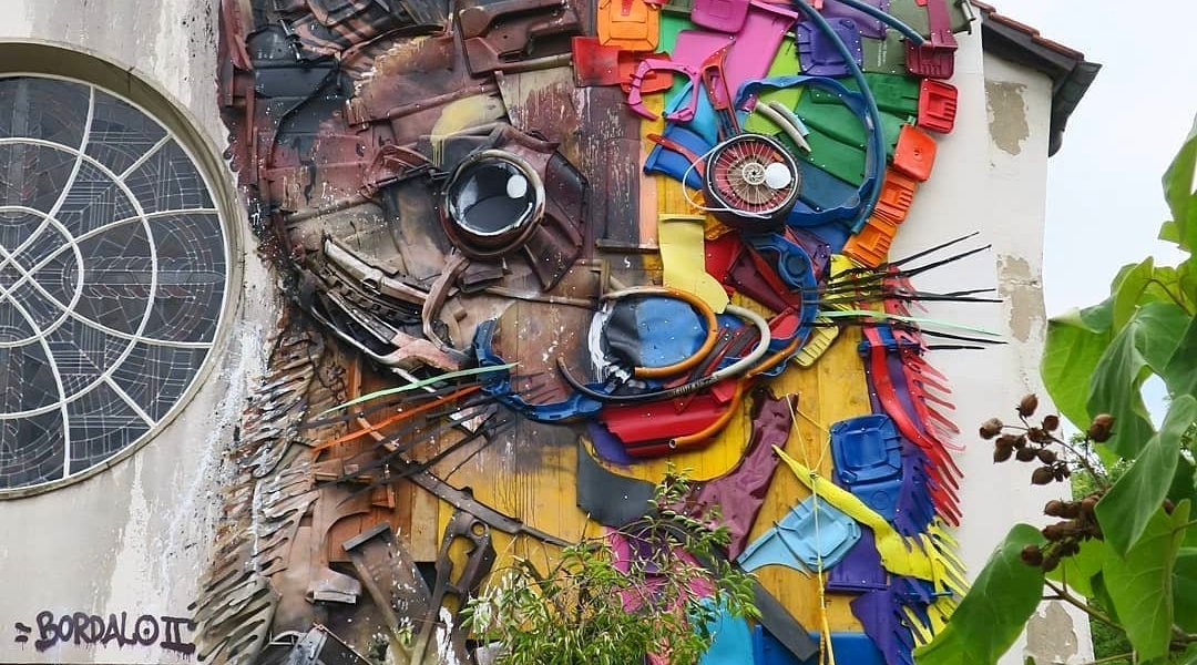 Bordalo II @Heidelberg, Germany