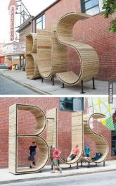 Creative Bus Stop