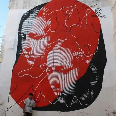 Chekos art @Cassano Delle murge, Italy