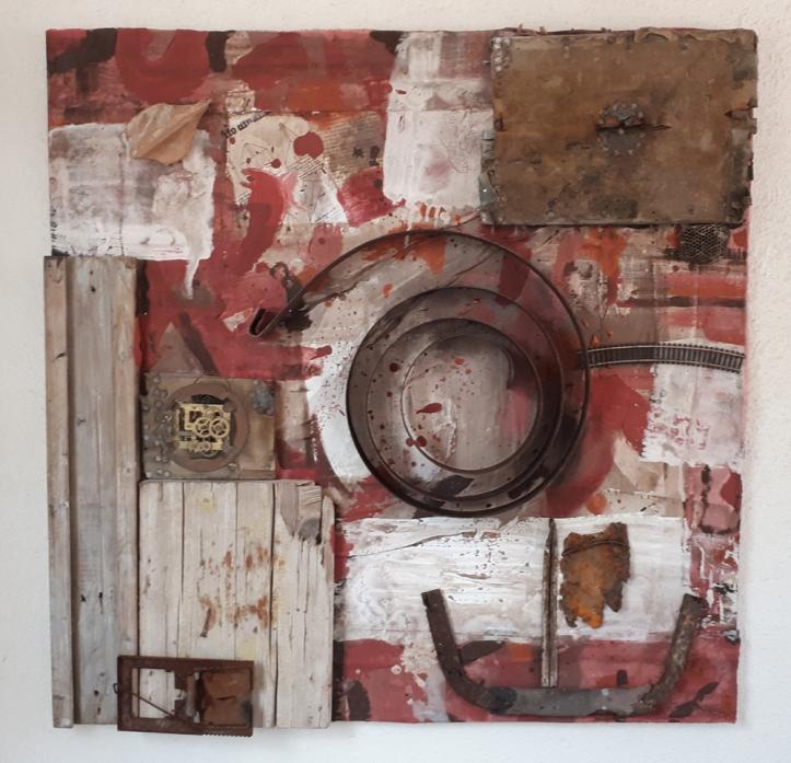 Fuga da Atlantide - Assemblage by Matteo Ambu & Barbara Picci
