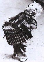 Giovane musicista, anni '20