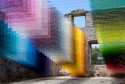 Installation in Old Stone House, Kagkatika for Paxos Contemporary Art Project (2018)