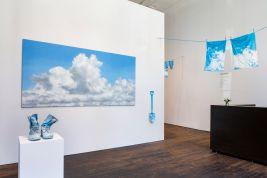 "Installation view of work by Geoffrey Hendricks for ""Summer"" at Peter Freeman, Inc., New York, 2018"