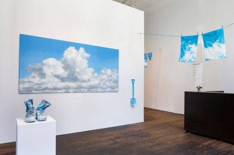 "Installation view of work by Geoffrey Hendricks for ""Summer"" at Peter Freeman, Inc., New York, 2018"