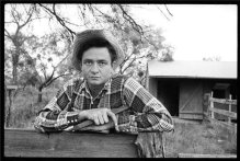 Johnny Cash, Texas, 1959. Fotografia di Don Hunstein