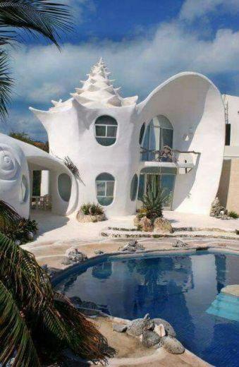 Casa conchiglia
