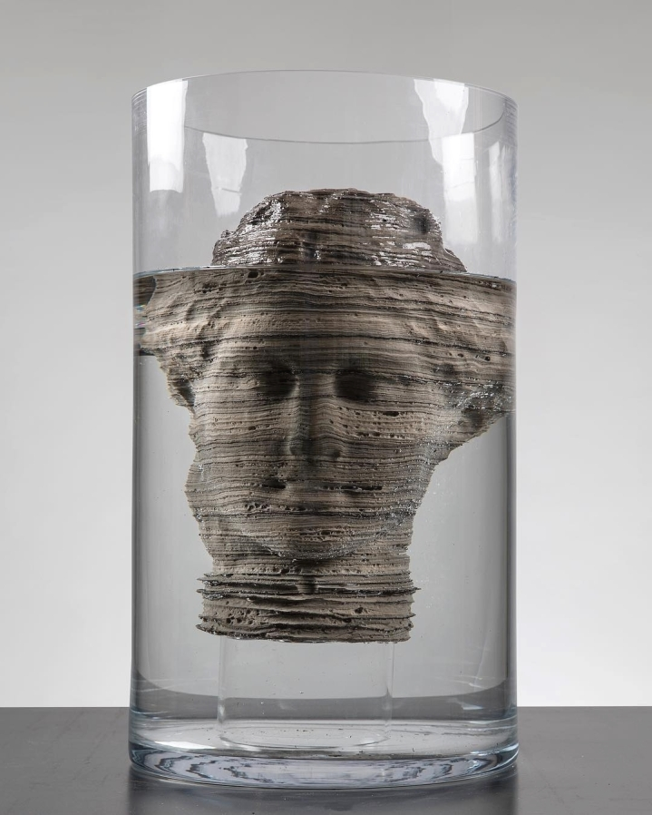 """""""Diagenesis of a Venus"""" (2018) by Massimiliano Pelletti"""