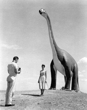 Parco dei dinosauri nel Sud Dakota, 1960