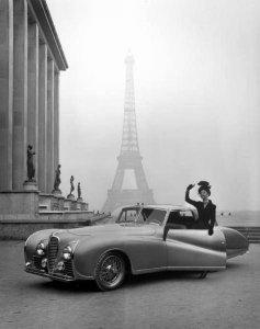 Parigi, 1947. Fotografia di Tony Linck