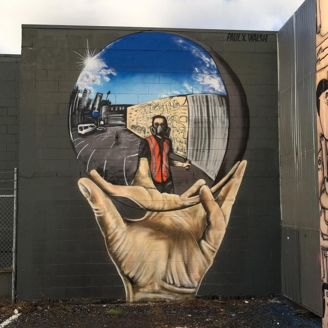 Paul X Walsh @Auckland, New Zealand