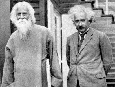 Rabindranath Tagore & Albert Einstein, 1930