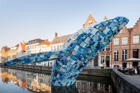 Triënnale 2018; STUDIOKCA - 'Skyscraper (the Bruges Whale)'