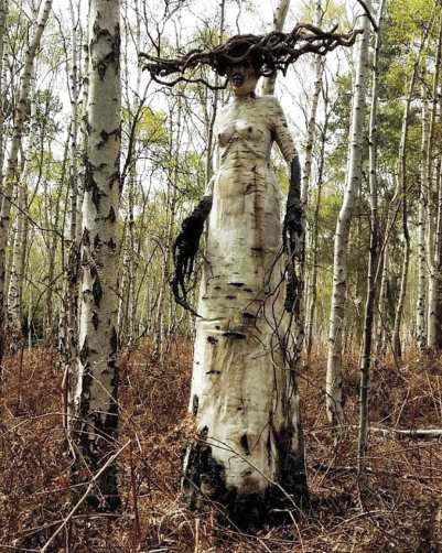 """The Birch: the white lady in the woods"" from Crypt TV (2016, Short Film)"