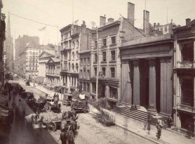 Wall Street, 1883