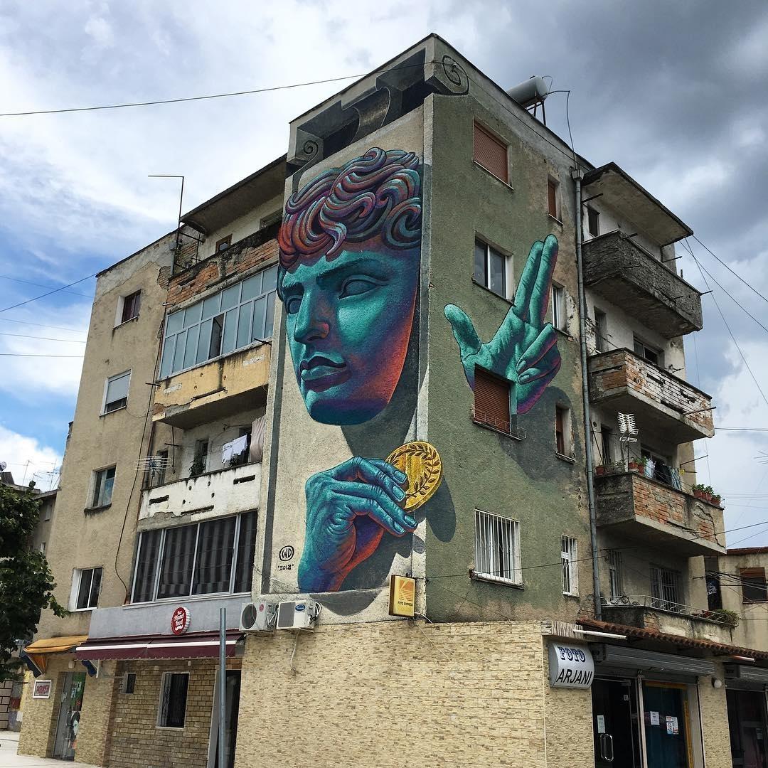 WD Drawing @Ura Vajgurore, Albania