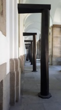 """Museo Reina Sofia: """"Equal-Parallel: Guernica - Bengasi"""" (1986) by Richard Serra"""