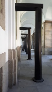 "Museo Reina Sofia: ""Equal-Parallel: Guernica - Bengasi"" (1986) by Richard Serra"