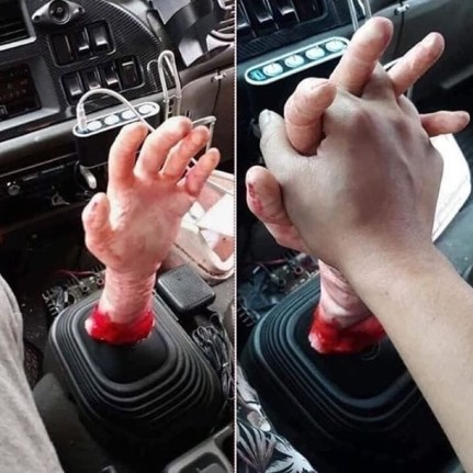 Cambio manuale horror