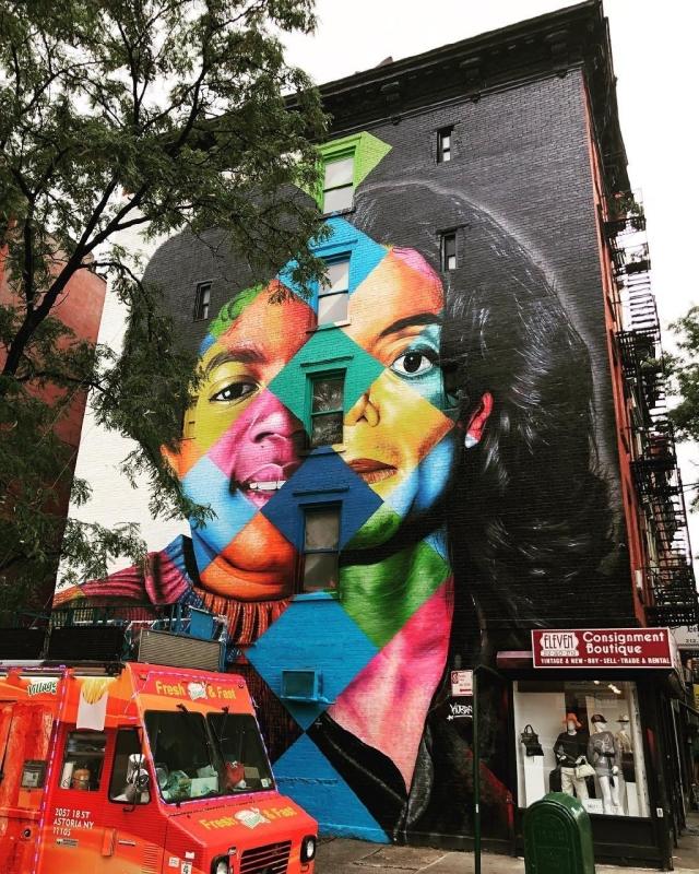Eduardo Kobra @ New York, USA