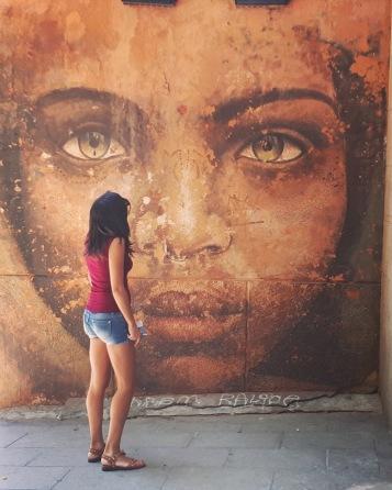 Madrid day by day - Street art nel quartiere di Lavapiés (opera dei Medianeras Murales)