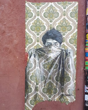 Madrid day by day - Street art nel quartiere di Lavapiés (opera di Agrume)
