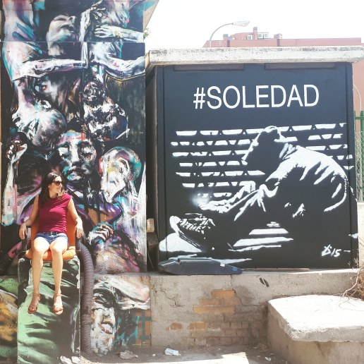 Madrid day by day - Museo La Neomudejar (street art all'esterno)