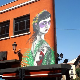 Madrid day-by-day - Street art - Fin DAC