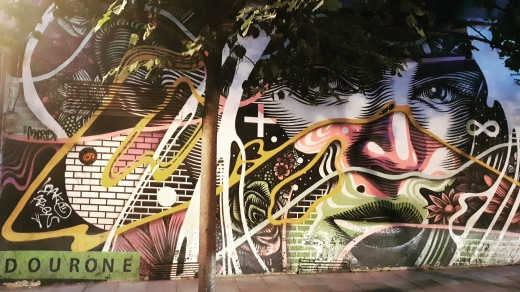 Madrid day-by-day - Street art - Dourone