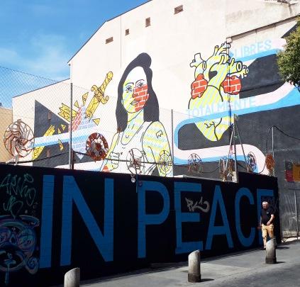 Street art: El Rey De La Ruina @ Calle de Embajadores, Madrid