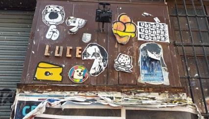 Street art a Madrid @ Calle de Embajadores