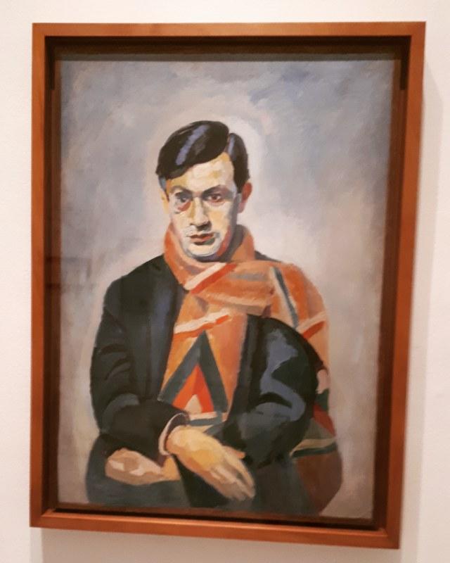 Museo Reina Sofia: Mostra sul Dadaismo russo 1914-1924 - Tristan Tzara (1923) by Robert Delaunay