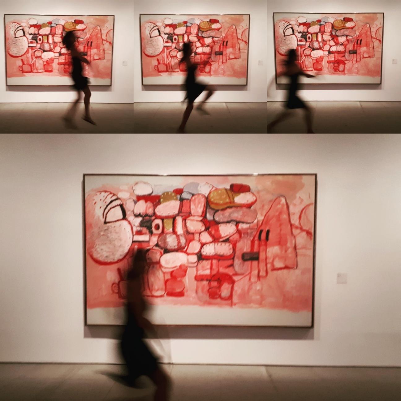 Museo Reina Sofia - Collezione permanente - Confrontation (1974) di Philippe Guston