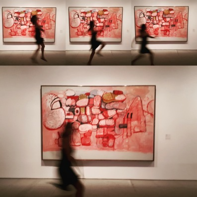 Museo Reina Sofia - Collezione permanente - Confrontation (1974) di Philippe Guston