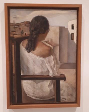 Museo Reina Sofia - Collezione permanente - Girl from the back (1925) di Salvador Dalì