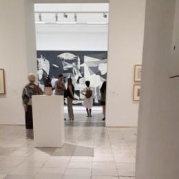 Museo Reina Sofia - Uno scorcio della Guernica