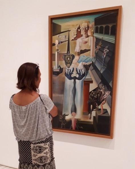 Museo Reina Sofia - Collezione permanente - The invisible man (1929-32) di Salvador Dalì
