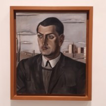 Museo Reina Sofia - Collezione permanente - Portrait of Luis Bunuel (1924) di Salvador Dalì