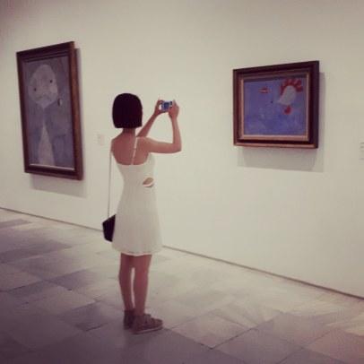 Museo Reina Sofia - Collezione permanente - Joan Mirò