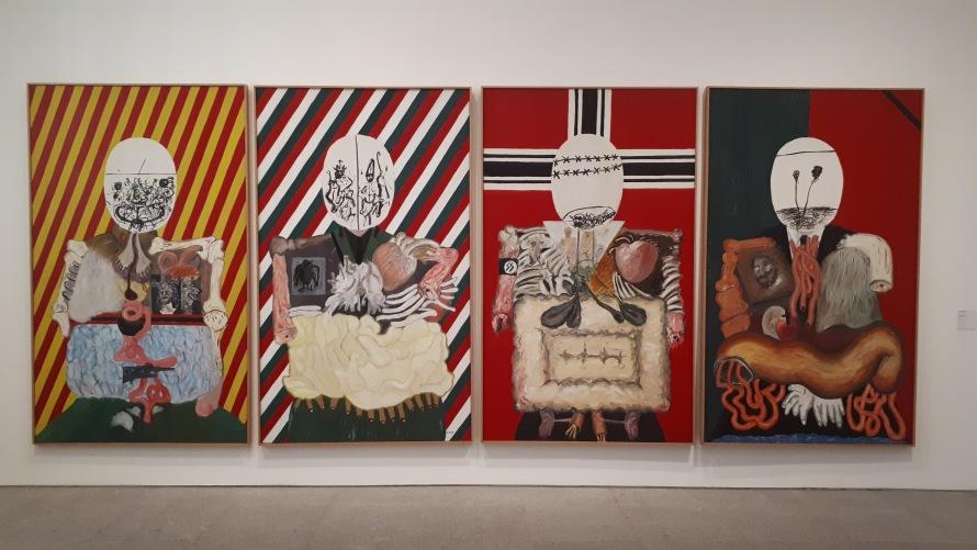 Collezione permanente - Museo Reina Sofia - Collezione permanente - The four dictators (1963) di Eduardo Arroyo