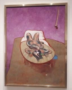 Collezione permanente - Museo Reina Sofia - Collezione permanente - Lying figure (1966) di Francis Bacon
