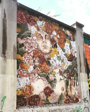 Street art: Casassola@ Lavapies, Madrid for Muros Tabacalera