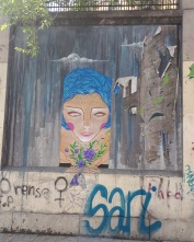 Street art: Chincheta @ Lavapies, Madrid for Muros Tabacalera