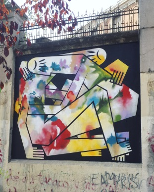 Street art: Digo Diego @ Lavapies, Madrid for Muros Tabacalera