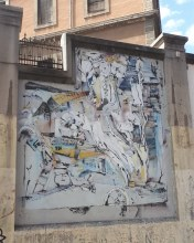 Street art: Laguna @ Lavapies, Madrid for Muros Tabacalera